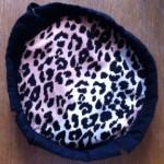 Leopard skin lining